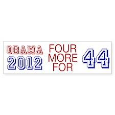 Obama 44 Bumper Bumper Sticker