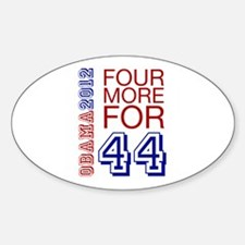 Obama 44 Decal