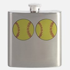 Softball Boobs Flask