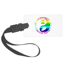 Supporter of Animal Rights Luggage Tag