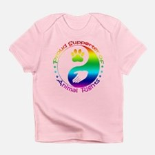 Supporter of Animal Rights Infant T-Shirt