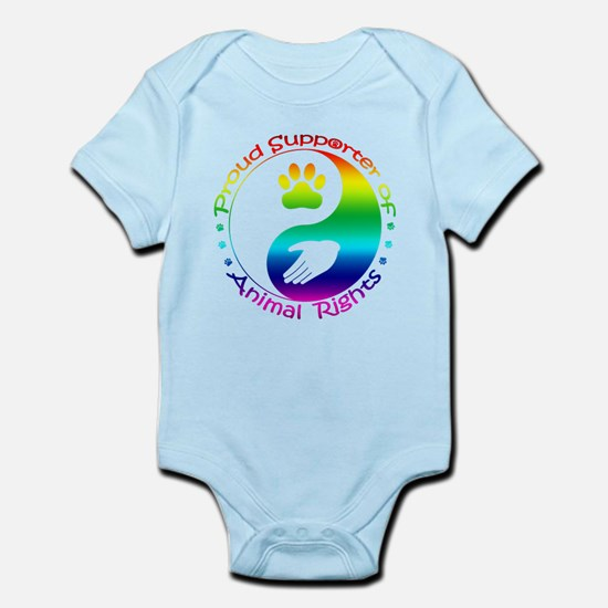 Supporter of Animal Rights Infant Bodysuit