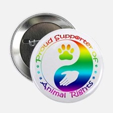 "Supporter of Animal Rights 2.25"" Button"