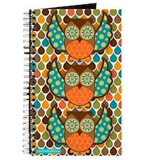 Owl Boheme Brown Journal