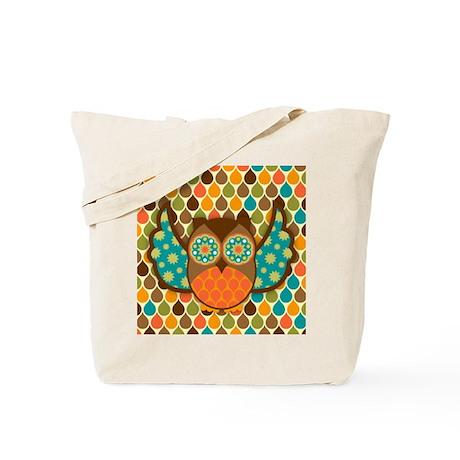 Owl Boheme Brown Tote Bag