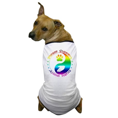 Please Support Animal Rights Dog T-Shirt