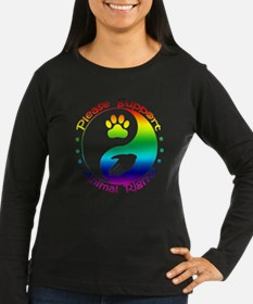 Please Support Animal Rights T-Shirt