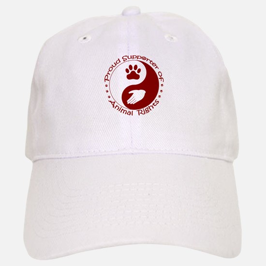 Supporter of Animal Rights Baseball Baseball Cap