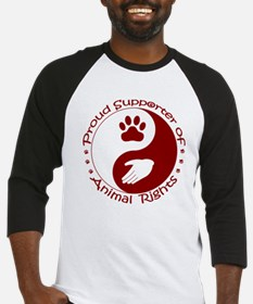 Supporter of Animal Rights Baseball Jersey