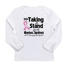 Stand Breast Cancer Long Sleeve Infant T-Shirt