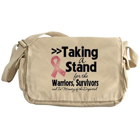 Stand Breast Cancer Messenger Bag