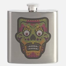 Day of the Dead Flask