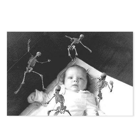 Baby with Skeletons