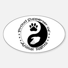 Supporter of Animal Rights Decal