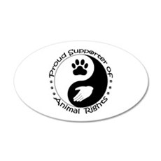 Supporter of Animal Rights Wall Decal