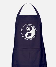 Supporter of Animal Rights Apron (dark)