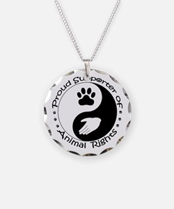 Supporter of Animal Rights Necklace