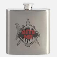 Bite Me Shark Flask