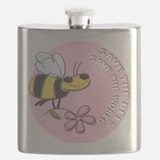 Save The Bees Flask