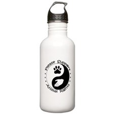 Please Support Animal Rights Water Bottle