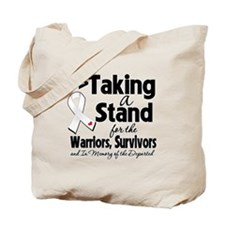 Stand Bone Cancer Tote Bag