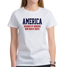 AMERICA: Geniuses - Idiots Tee