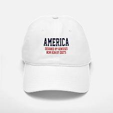 AMERICA: Geniuses - Idiots Baseball Baseball Cap