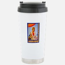 Java Travel Poster 2 Travel Mug