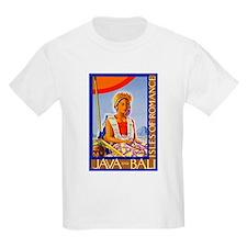 Java Travel Poster 2 T-Shirt