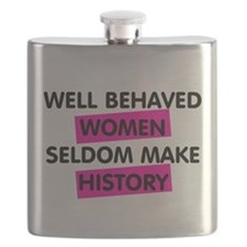 Well Behaved Women Flask