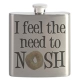 Jewish humor Flask Bottles
