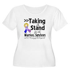 Stand Bladder Cancer T-Shirt