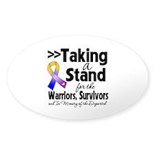 Stand Bladder Cancer Bumper Stickers