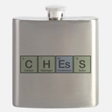 Chess Made of Elements Flask