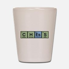 Chess Made of Elements Shot Glass