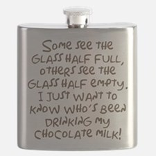 Chocolate Milk Flask