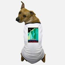 Alaska Travel Poster 4 Dog T-Shirt