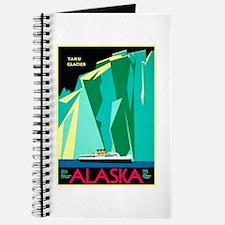 Alaska Travel Poster 4 Journal