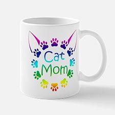 """Cat Mom"" Small Small Mug"
