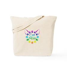 """""""Cat Mom"""" Tote Bag"""