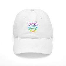"""""""Cat Mom"""" Baseball Cap"""