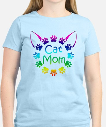 """Cat Mom"" T-Shirt"