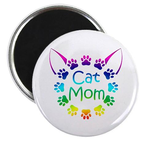 """""""Cat Mom"""" Magnet"""