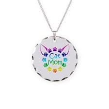 """""""Cat Mom"""" Necklace"""