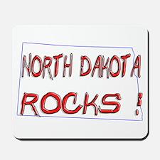 North Dakota Rocks ! Mousepad