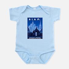 Siam Travel Poster 1 Infant Bodysuit