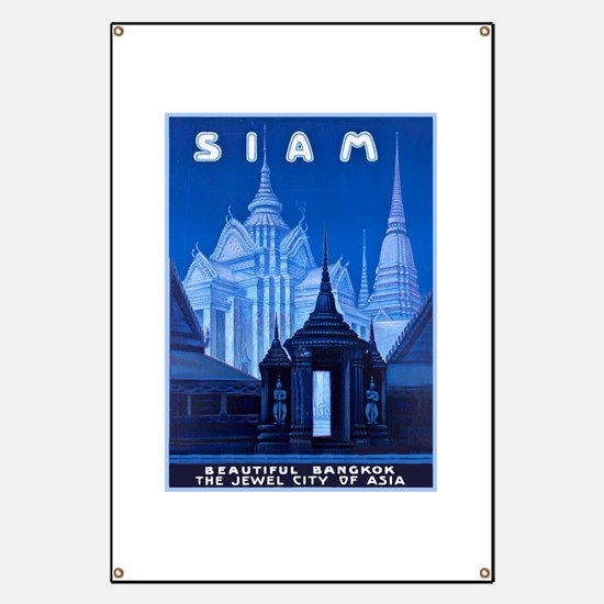 Siam Travel Poster 1 Banner