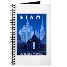Siam Travel Poster 1 Journal
