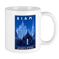 Siam Travel Poster 1 Mug
