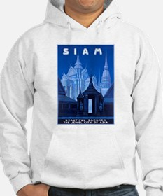Siam Travel Poster 1 Hoodie